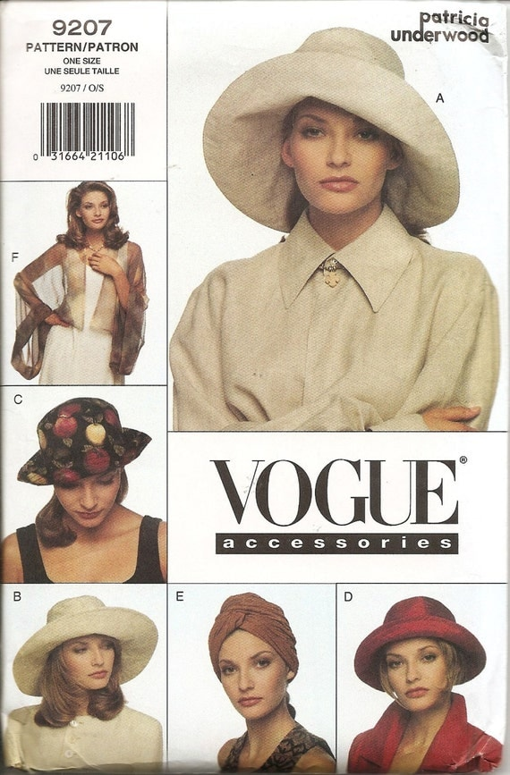 1990s Patricia Underwood pattern - Vogue 9207