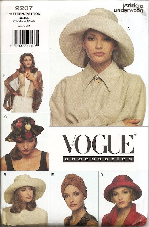 1990s Patricia Underwood pattern - Vogue 9207