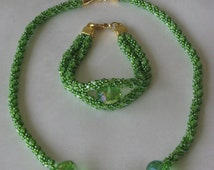 Peace of Paradise Necklace & Bracelet