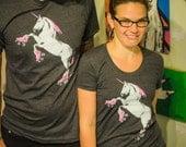 Roller Skating Unicorn Shirt: Unicorn T Shirt, Unicorn Tops, Unicorn Tees, Funny Unicorn Shirt, Cool Tees, Roller Skates Shirt