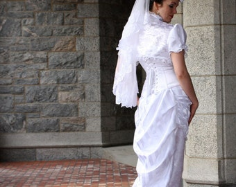 Rosa Mia Victorian Bridal Gown Made to Measure