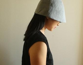 LINEN HAT / women / men / beanie / cloche / reversible / vegan / organic / summer hat / made in australia / eco friendly / by pamelatang