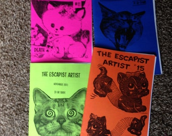 The Escapist Artist ZINE PACK #THREE