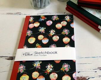 Black Lanterns A5 Sketch book