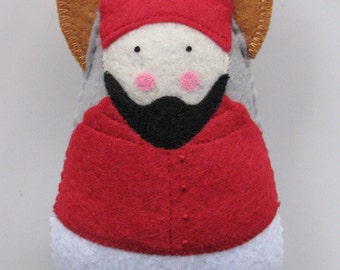 Saint Robert Bellarmine Felt Saint Softie