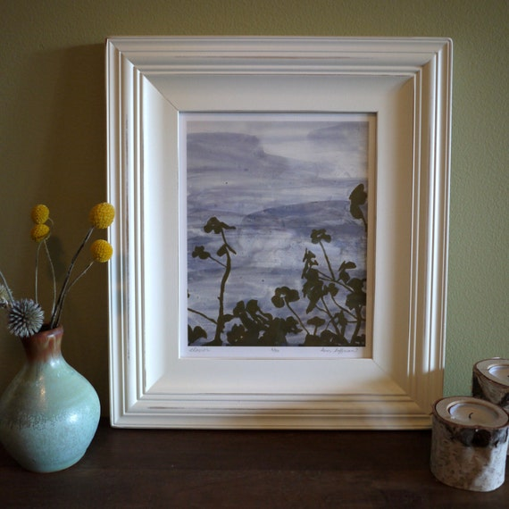 Framed 8x10 Botanical Print - You pick