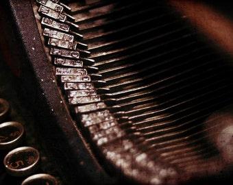 Underwood Typewriter  5x7 Photo Fine Art Photography