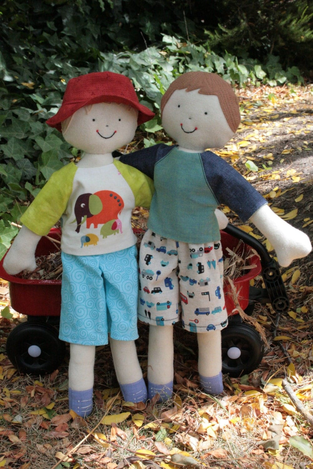 Kinder Boys boy doll sewing pattern with clothes. by ...