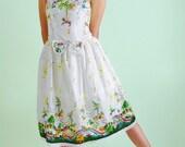 Womens Lolita Dress Carousel Horses Lolita JSK Dress