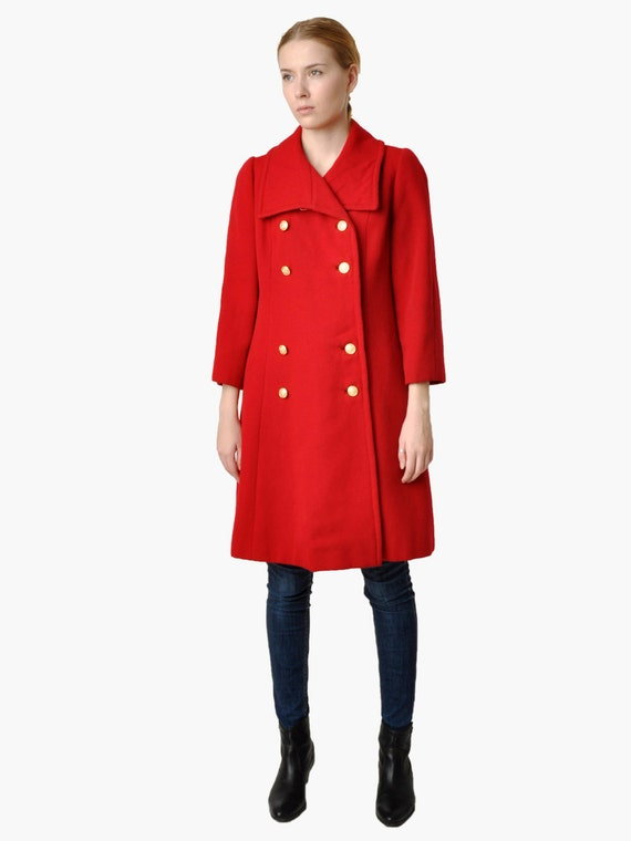 Our inch classic wool naval pea coat comes in 32 oz melton wool. This slim fitting stylish update of a classic features leather trim details at the seams and a red satin lining.
