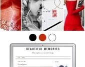 Mobile Responsive Blogger Template | Premade Blogger Template | Blog Design Beautiful Memories