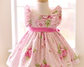 Girls Infant Toddler Easter Evelyn Dress  - Size 6mos. - Available immediately for shipping