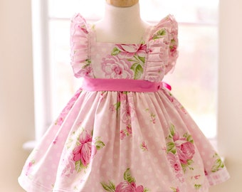 Girls Infant Toddler Easter Evelyn Dress