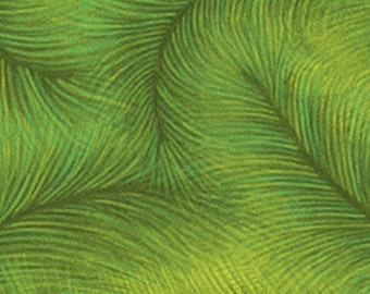 Feather Green Benartex Fabric 1 yard