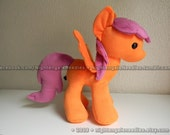 Grown Up Scootaloo - You Design Her Cutie Mark! - 16 Inch My Little Pony MLP Plush