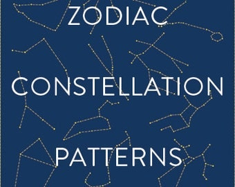 Zodiac Constellation Patterns