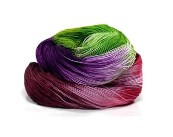 300 Yards Hand Dyed Cotton Crochet Thread Size 10 3 Ply Green Dark Red Violet Dark Red Dark Purple Lavender Fine Cotton Yarn