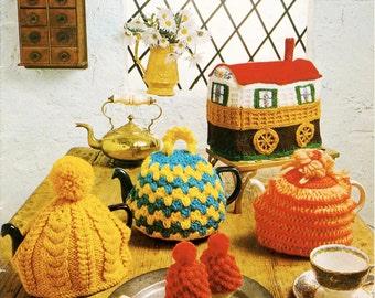 Caravan Tea Cosy and more - Digital Knitting Pattern