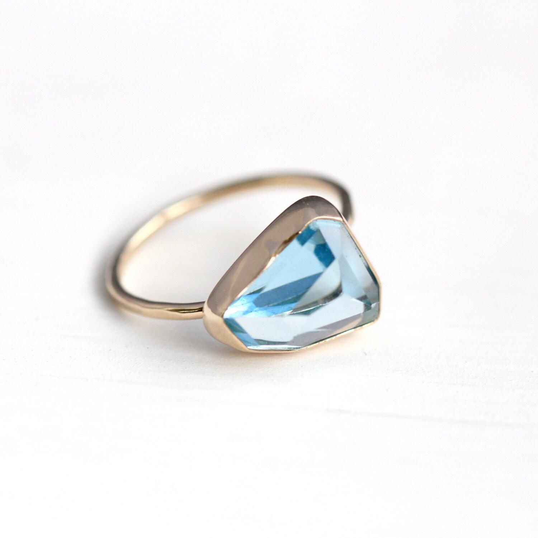 Black Diamond Nugget Chunk Ring