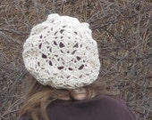 crochet easy simple ladies hat pdf pattern  - Shell Horizons Hat -digital pdf instant download pattern only by anastacia knits designs