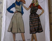 Misses Jumper Pattern Uncut , Butterick 3386 Size 16,Semi Fitted,Flared Jumper,Scoop Neckline