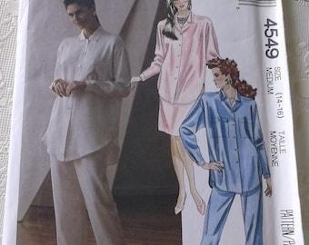 Misses Top,Skirt,Pants Pattern Size 14-16 Mccalls 4549