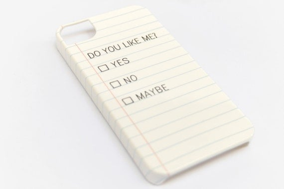 iPhone 6S Case Lined Paper Note iPhone 5S Case iPhone 6