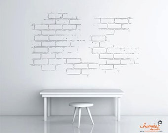 Delicieux Bricks Wall Decal