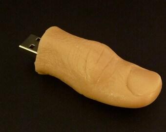 Human Thumb Drive 8GB