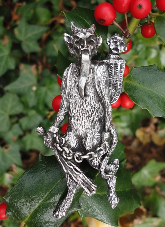 Krampus Pendant Ornament