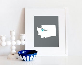 Seattle is My Home // 8x10 Digital Washington Print