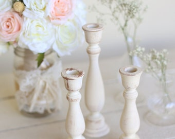 Rustic Chic Candle Holders Country Barn Wedding Centerpieces by Morgann Hill Designs