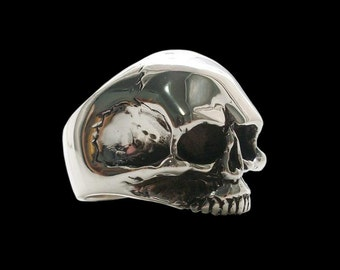 Sterling Silver Keith Skull Ring - ALL SIZES