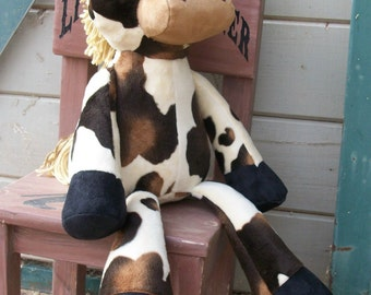 "MADE to ORDER Nutty Nag  ""Koda""  Plush Horse"