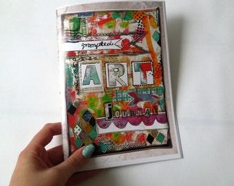 ECONOMY Hardcopy Prompted Art Journal by Jennibellie