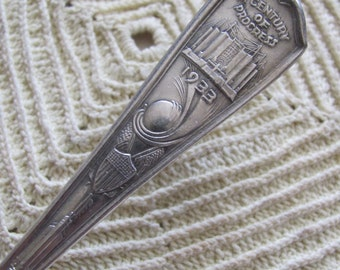 Vintage Silver Plate Collectible Spoon - Hall of Science 1933 - Chicago