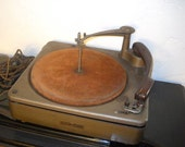 Vintage 1950s Webcor Three Speed Record Player Changer model 100-55-1
