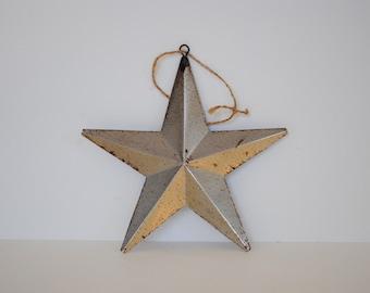 Silver Tin Star