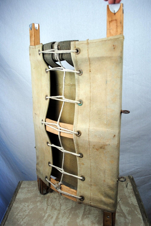 Vintage Indian Pack Board Trapper Nelsons Wood Frame External