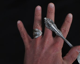 Silver Spoon Ring, Choose Your Style, Custom Made