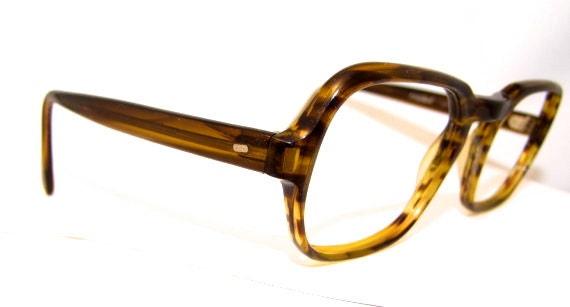 1970s Mens Eyeglasses 60s 70s Vintage Frames