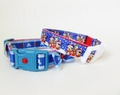 SALE - Dog Collar - 2 Disney Collars -Christmas Mickie and Friends