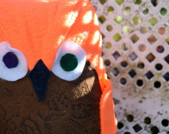 Sven the Orange Owl Plush
