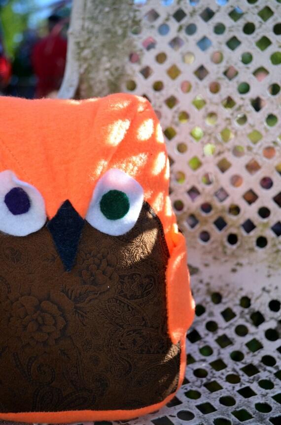 Sven the Orange Owl Plush