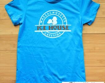 Ice House Shirt Dawson's Creek Womens American Apparel  90's s, m, l, xl
