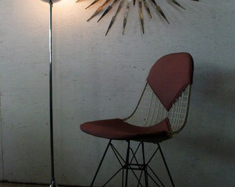 MOD-SALE! Mid Century Modern Chrome Tulip Floor Lamp vintage Stemlite Laurel Bill Curry Style Lamp 1960s