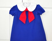 Custom Modern Madeline Dress Size 3/4 READY TO SHIP!