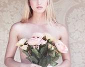 weiße Hochzeits Blume Krone, Hochzeit Haarschmuck, Hochzeit Blumen Kranz Seide Blume Stirnband