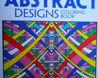 Abstract Designs Advanced, For Colorists of all ages. Over 30 designs., #34