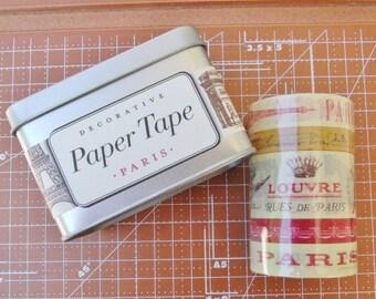 Cavallini PARIS Decorative Paper Tape